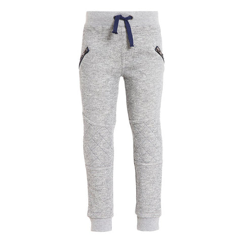 3 Pommes Grey Jogging Trouser with Zipper