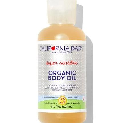 California Baby Super Sensitive Organic Body Oil