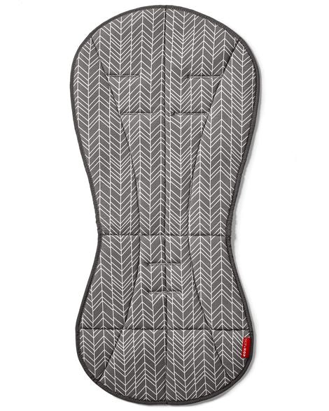 Skip Hop Stroll & Go Cool Touch Stroller Liner - Gray Feather