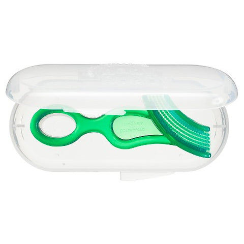 Baby Buddy Baby's 1st Toothbrush w/case - Green