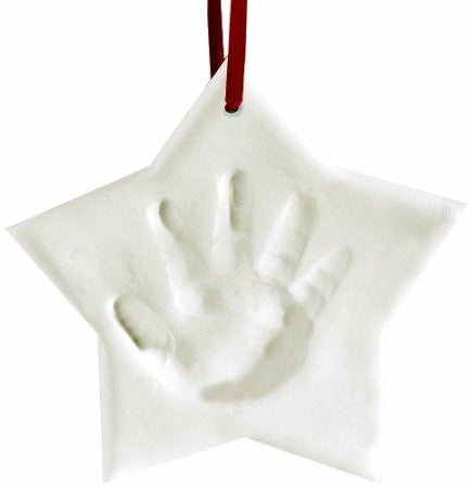 Pearhead Babyprints - Xmas Ornament Star