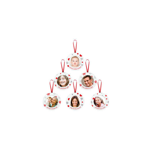 Pearhead Family Tree Set Ornament