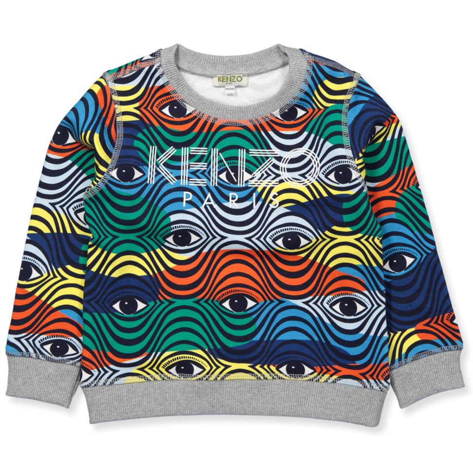 Kenzo Logo Eye7 Sweat Shirt