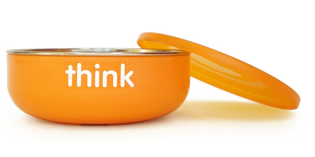 Thinkbaby Orange Baby Bowl 12cm