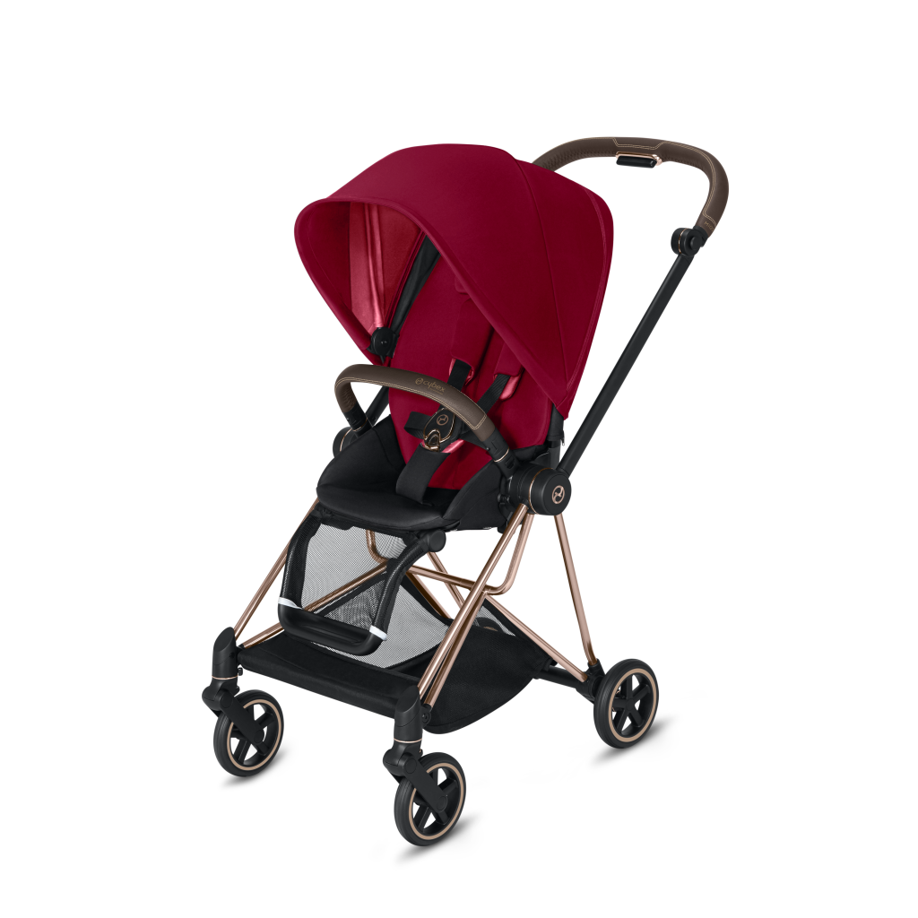 Cybex Mios 2 Rose Gold + True Red Seat