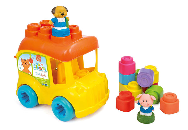 Clementoni Baby Clemmy School Bus