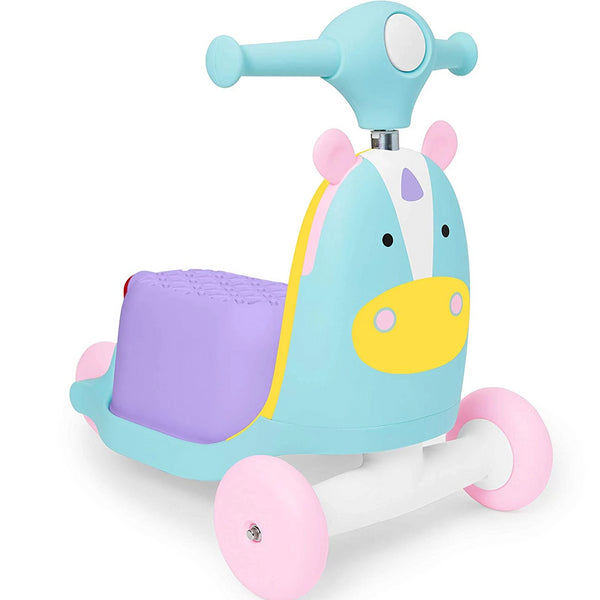 Skip Hop Zoo 3-in-1 Ride On-Unicorn