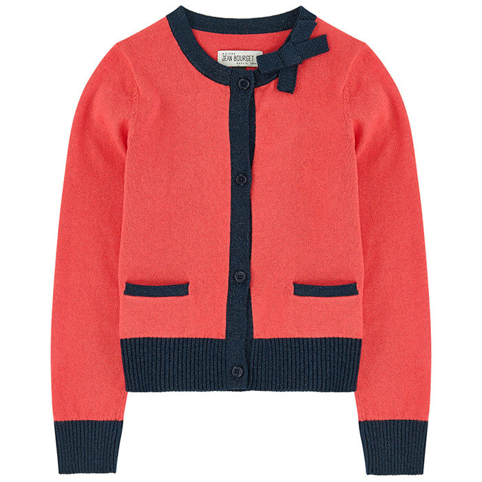 Jean Bourget Orange Night Cardigan FW16