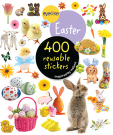 Eyelike Reusable Stickers - Easter