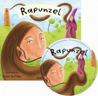 Child's Play Rapunzel Book w/CD