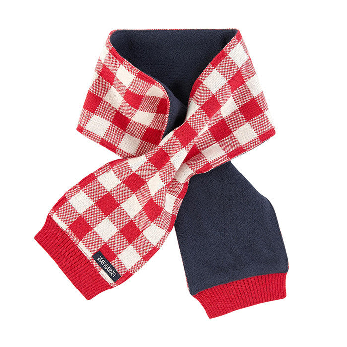 Jean Bourget Scottish Red & White Scarf FW16