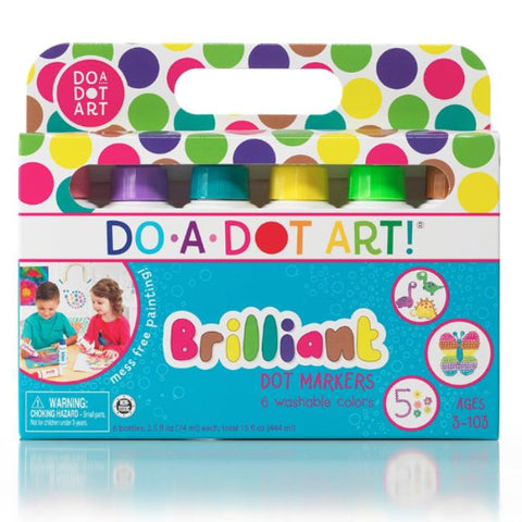 Do-A-Dot Art 6 Pack- Brilliant