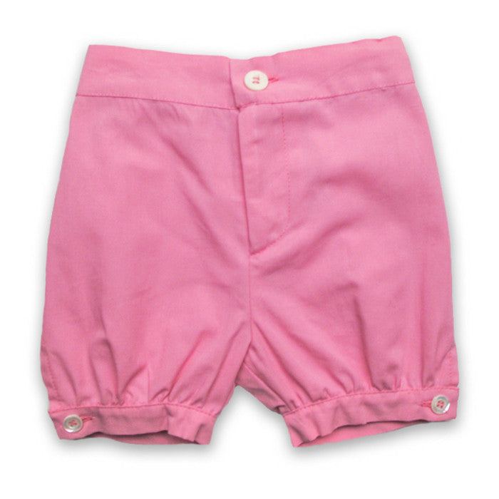 Baby CZ Bubble Short in Pink
