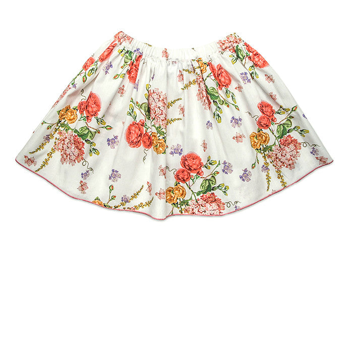 Baby CZ Cotton Skirt in Vintage Floral