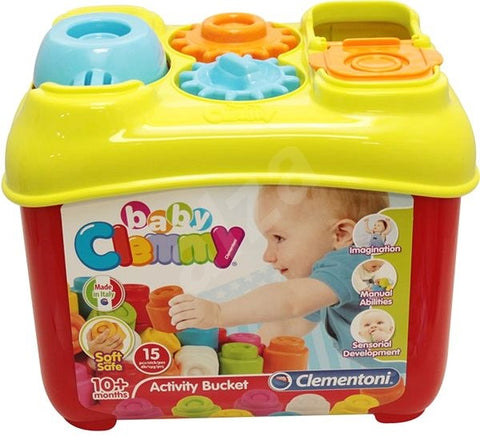 Clementoni Baby Clemmy Activity Bucket