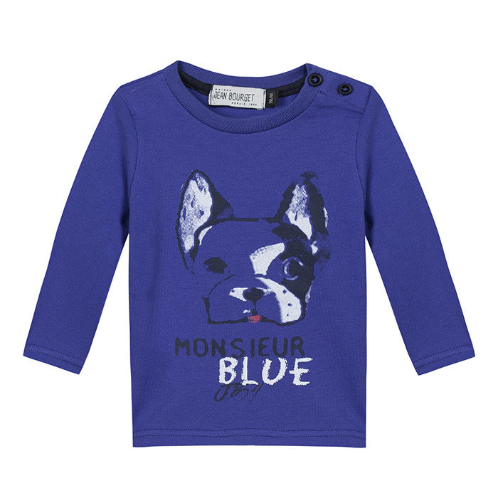 Jean Bourget Royal Blue Arty Cool Tee FW16