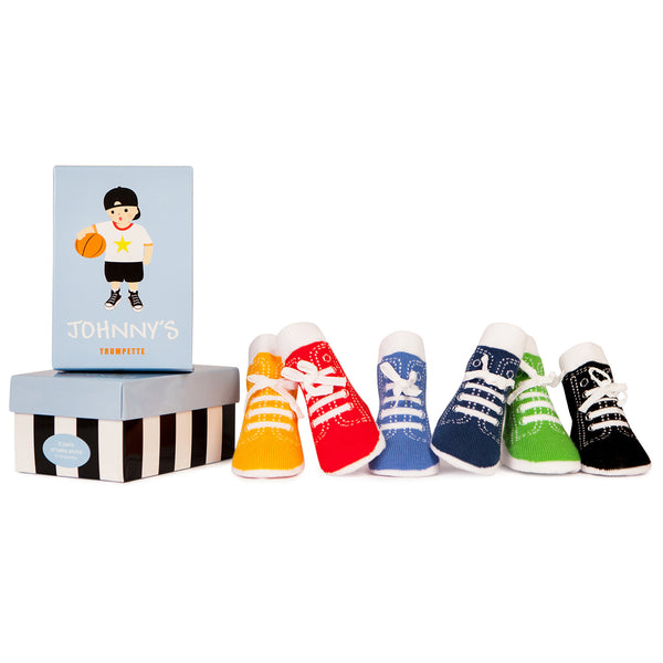 Trumpette Johnny's Socks (0-12M) Assorted