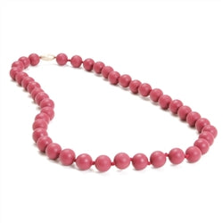 Chewbeads Jane Necklace - Spice Wine