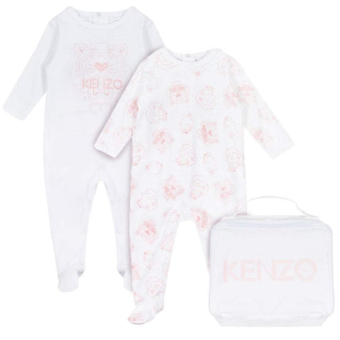 Kenzo Welcome Baby Gift Set - Light Pink