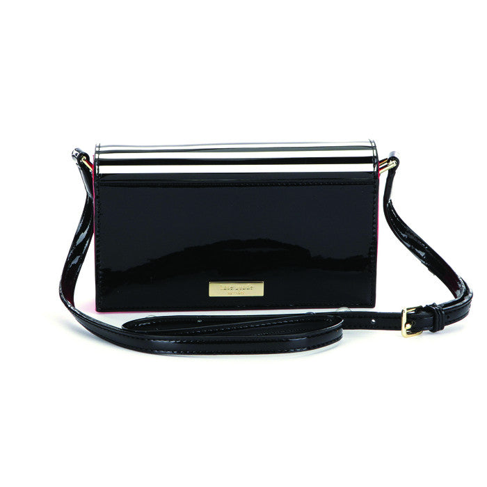 Kate Spade Black/Cream Girls Beau Crossbody