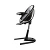 Mima Moon 2G- Black Highchair with Footrest