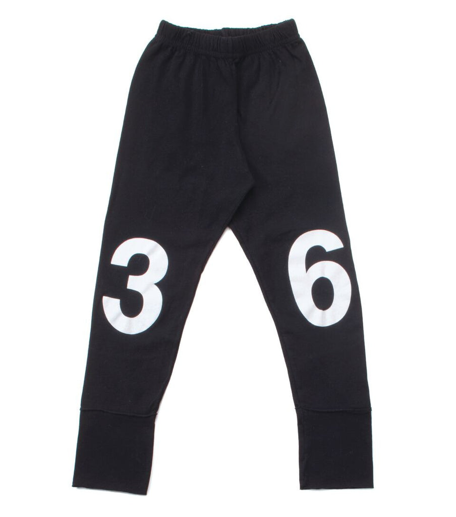 NUNUNU Numbered Leggins FW17