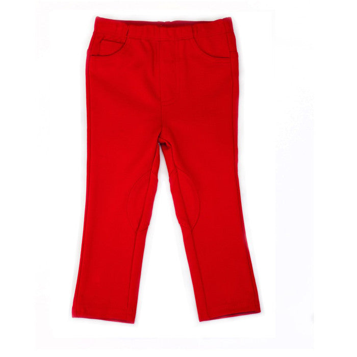 Egg Ponte Pant - Red