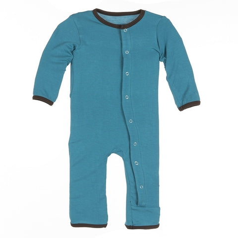 Kickee Pants Solid Fitted Coverall