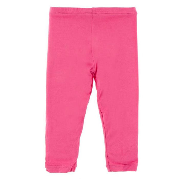 Kickee Pants Solid Legging - Flamingo