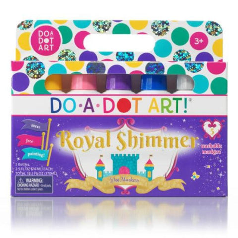 Do-A-Dot Art 5 Pack- Royal Shimmers