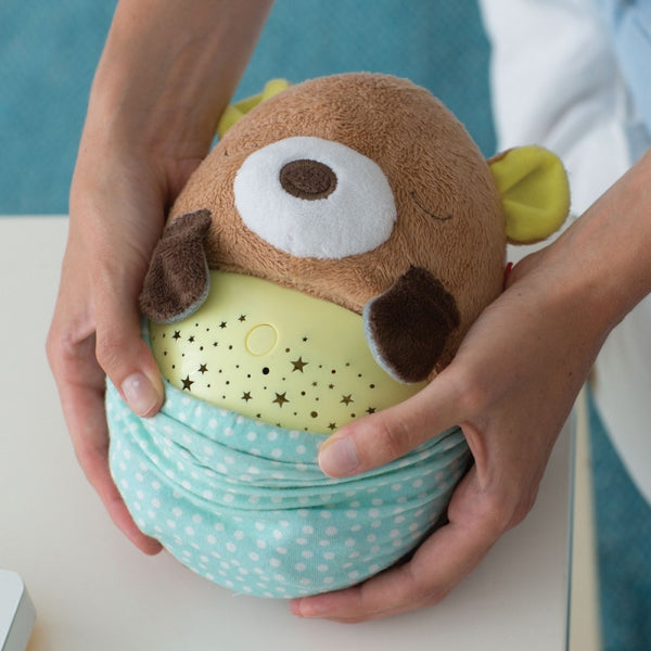 Skip Hop M&M Hug Me Projection Soother - Bear