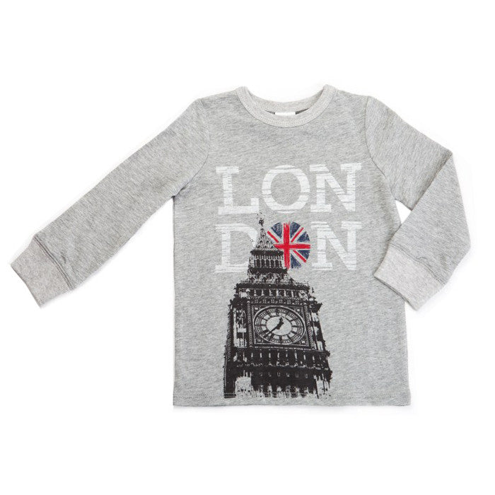 Egg Slub Big Ben Tee - Grey