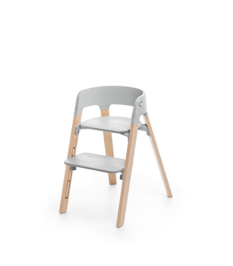 Stokke Steps Chair - Grey / Natural