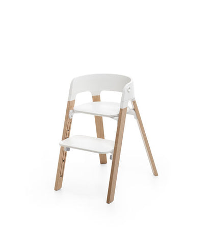 Stokke Steps Chair - White / Natural