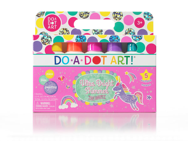 Do-A-Dot Art 5 Pack Ultra Bright Shimmer