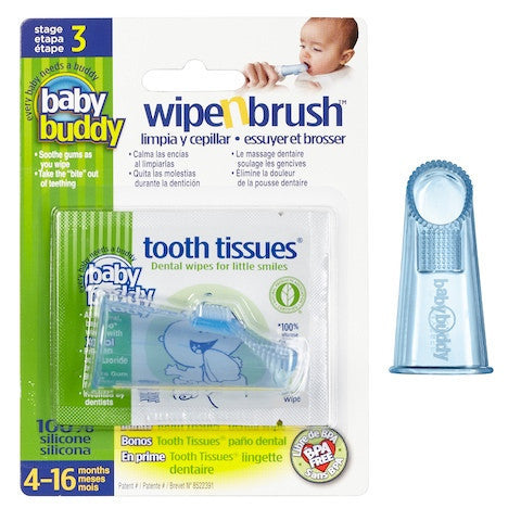 Baby Buddy Wipe N Brush