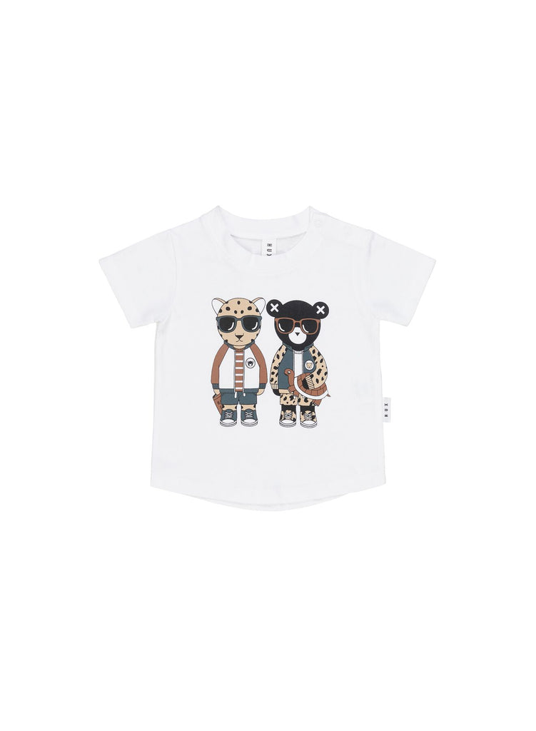 Huxbaby Leopard Friends T-Shirst