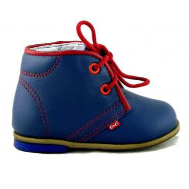 Emel Blue Leather Shoes