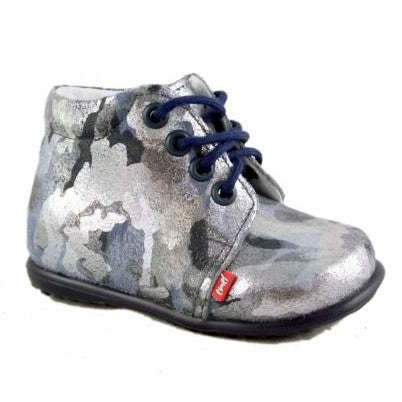 Emel Silver Leather Shoes