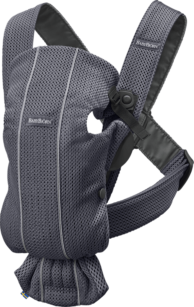 BabyBjorn Baby Carrier Mini - Anthracite Mesh
