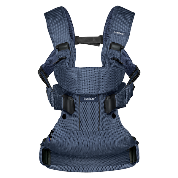 BabyBjorn Baby Carrier One Air - Navy Blue Mesh