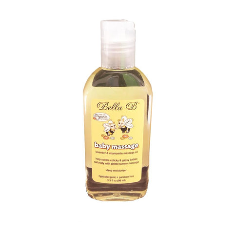 Bella B Bee Baby Massage Oil 3.3 fl oz