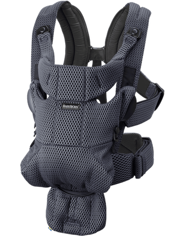 BabyBjorn Baby Carrier Free - Anthracite 3D Mesh