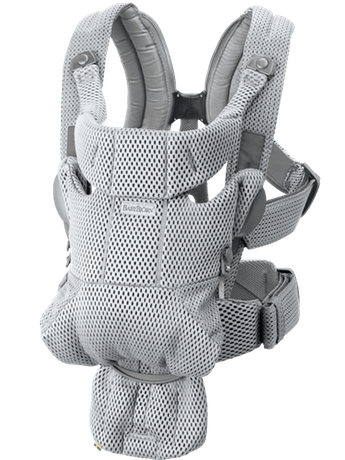 BabyBjorn Baby Carrier Free - Grey 3D Mesh