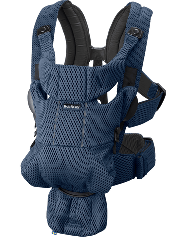 BabyBjorn Baby Carrier Free - Navy Blue 3D Mesh