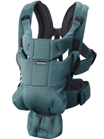 BabyBjorn Baby Carrier Free - Sage Green 3D Mesh
