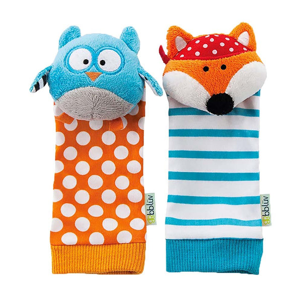 bblüv Foot Finders - Owl & Fox