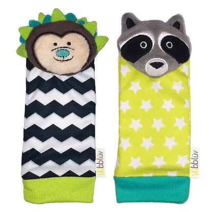 bblüv Foot Finders - Hedgehog & Racoon
