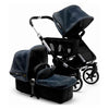 Bugaboo Donkey Tailored Fabric Diesel Denim Set (Extendable Sun Canopy)