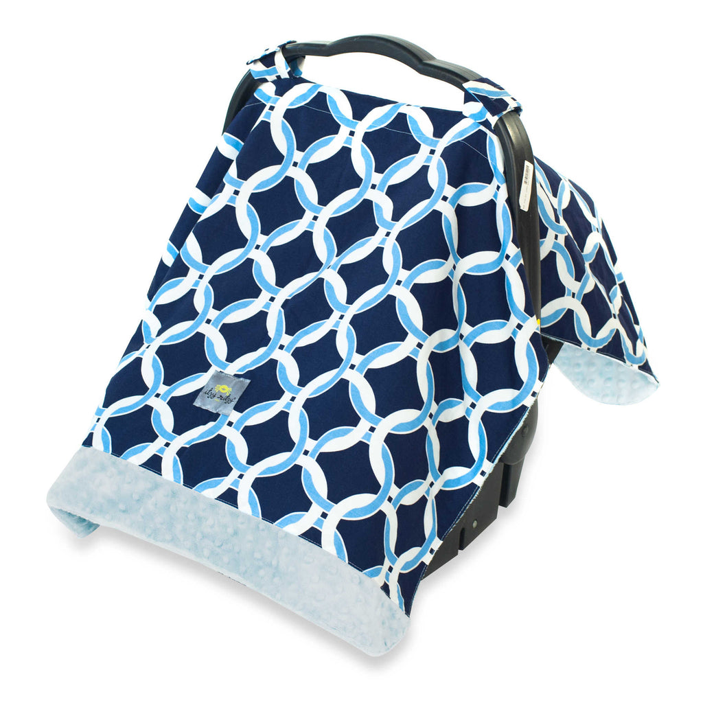 Itzy Ritzy COZY HAPPENS™ INFANT CAR SEAT CANOPY